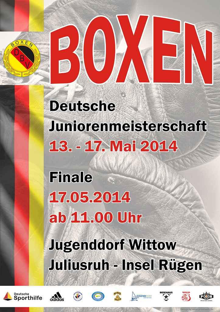 Plakat u17 DM 2014