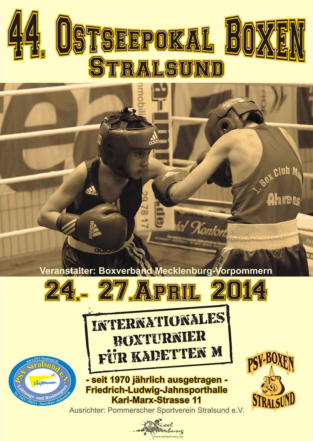 Poster Ostseepokal 2014
