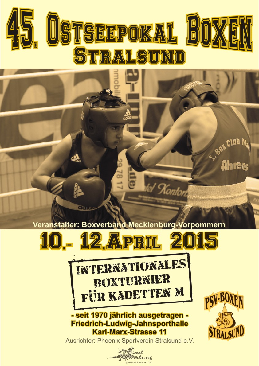 Poster Ostseepokal 2015