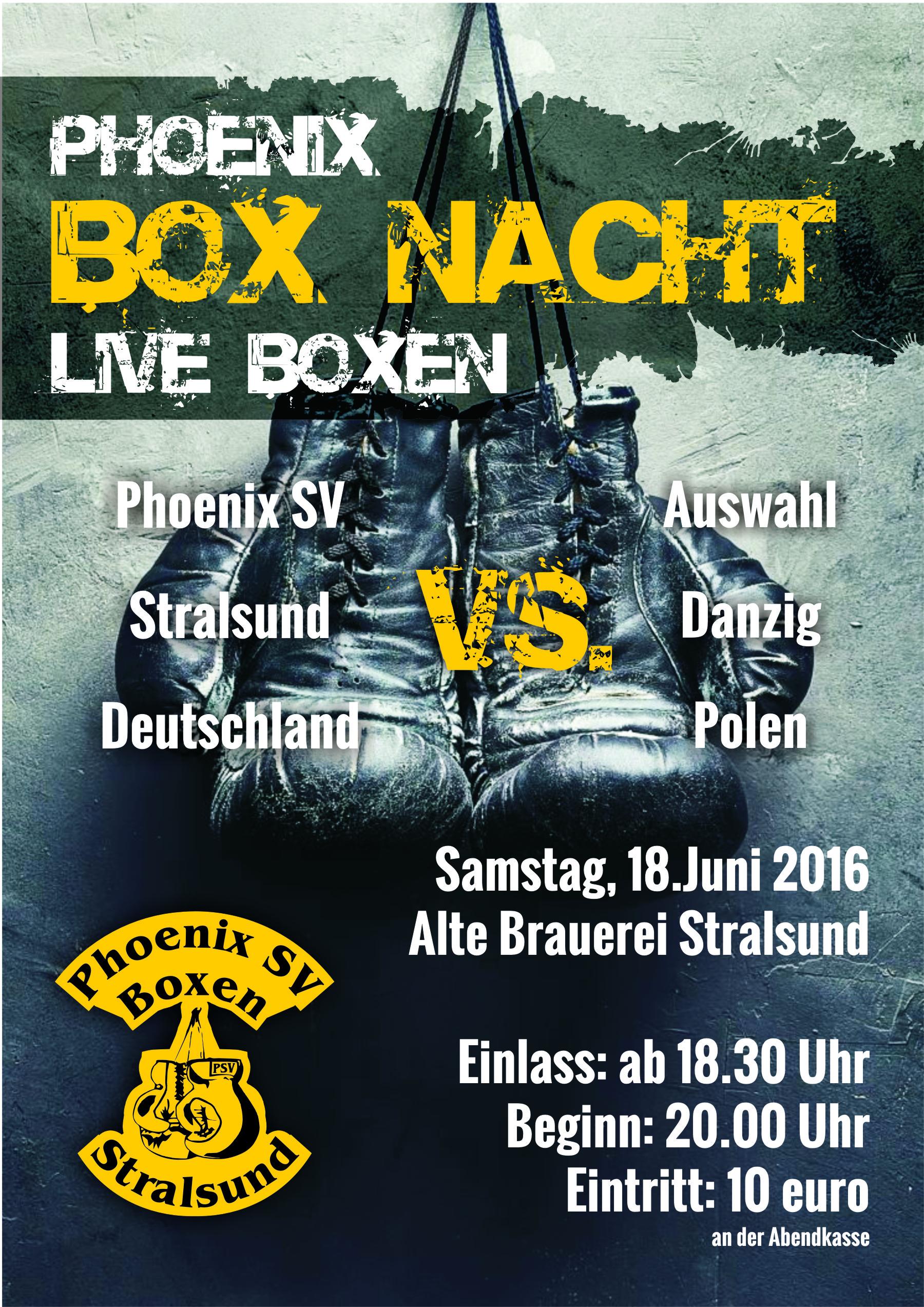 Plakat Boxnacht m
